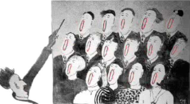 The Prisoners choir